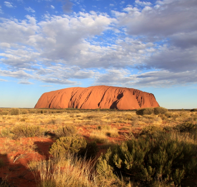 Uluru, Uluru-Kata Tjuta National Park. (Photo Credit: Parks Australia)