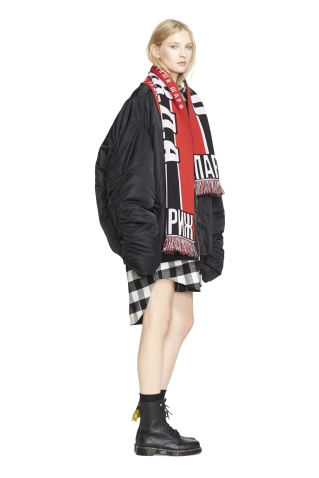 Vetements Bomber Jacket, Vetements Scarf, Vetements Shirt_