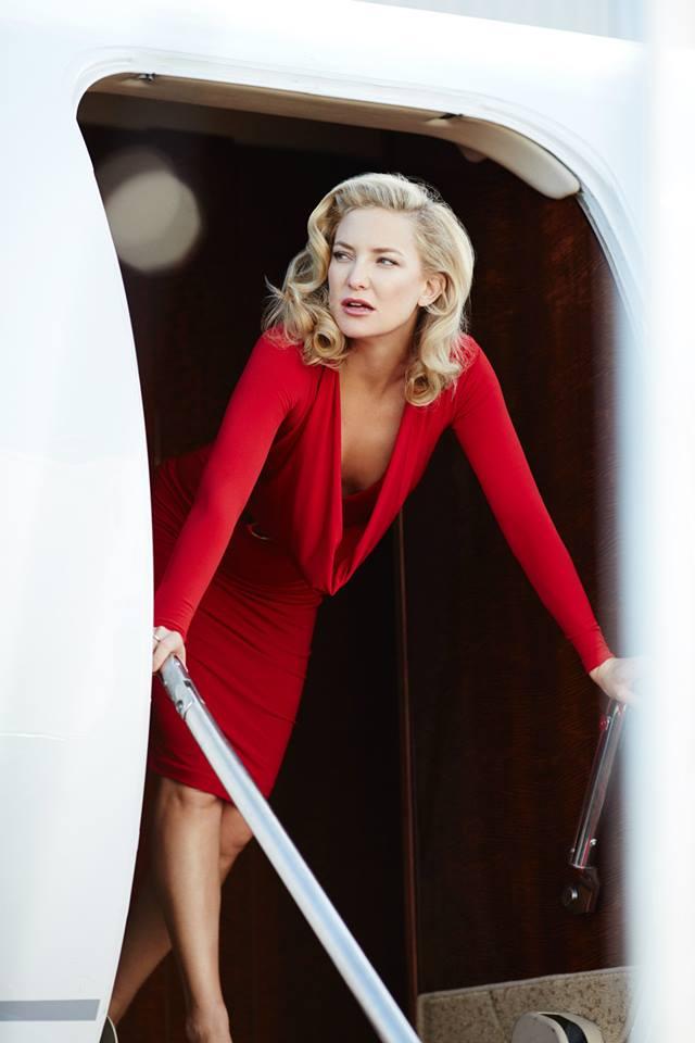 Campari 2016 Calendar starring Kate Hudson. Behind The Scenes images by Francesco Pizzo