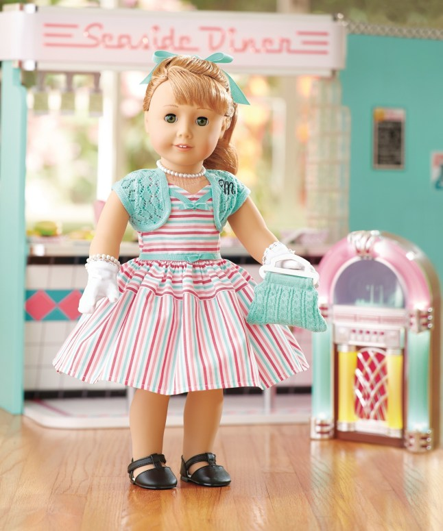 American Girl&'s new BeForever doll, Maryellen Larkin. (PRNewsFoto/American Girl)