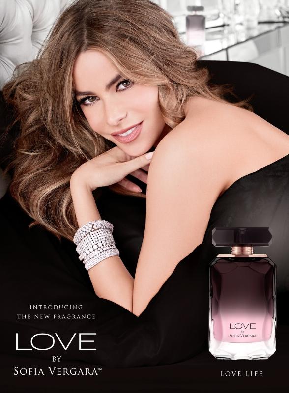 Sofia Vergara launches her second fragrance for women, LOVE BY SOFIA VERGARA (PRNewsFoto/Parlux Fragrances, LTD)