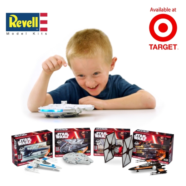 'Star Wars: The Force Awakens' - Vehicle Models New from Revell.  Now available at Target.  (PRNewsFoto/Revell Inc.)