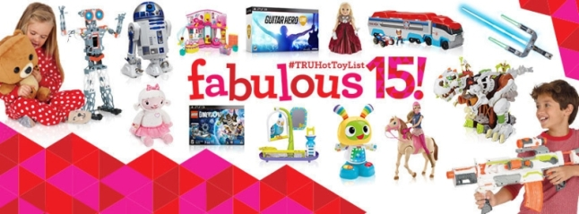 "The 2015 Toys""R""Us Holiday Hot Toy List is here! (PRNewsFoto/Toys""R""Us, Inc.)"