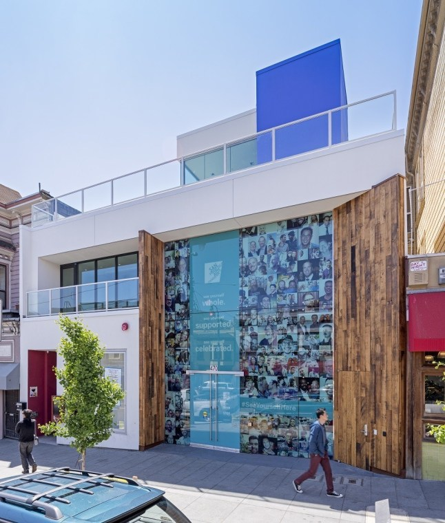 Strut is a center for gay and bi men's health and wellness, opening in the Castro this fall. (PRNewsFoto/San Francisco AIDS Foundation)