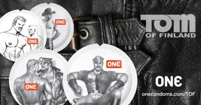 Tom of Finland Condoms from ONE(R). (PRNewsFoto/Global Protection Corp.)