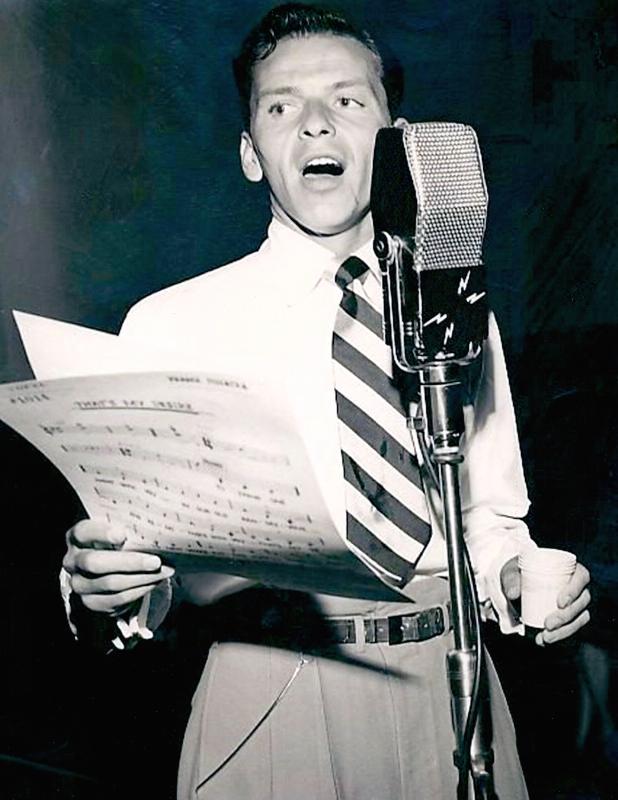 Frank Sinatra (PRNewsFoto/Legacy Recordings)
