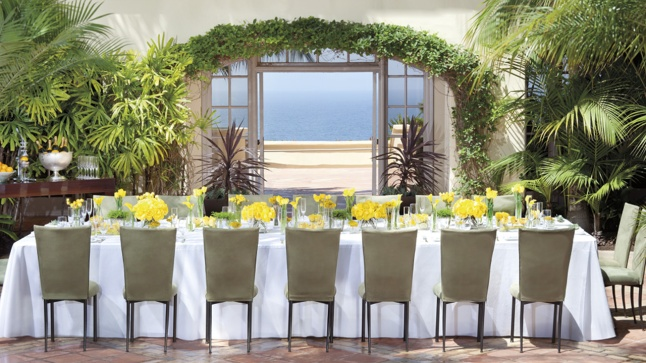 A dinner party with a sublime view at The Ritz-Carlton, Laguna Niguel