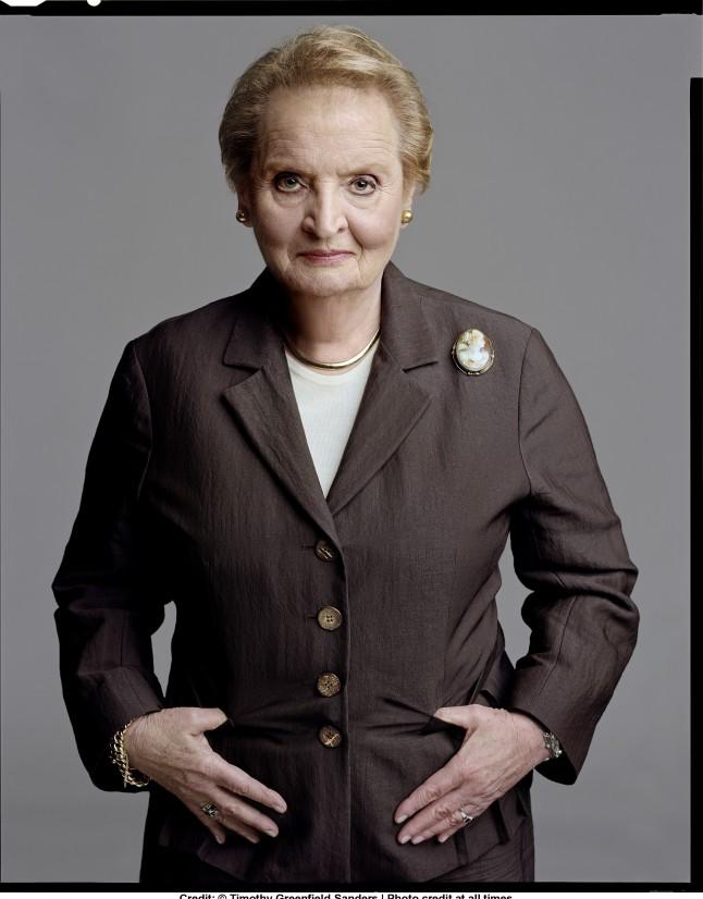 Madeleine Albright. Credit: © Timothy Greenfield-Sanders