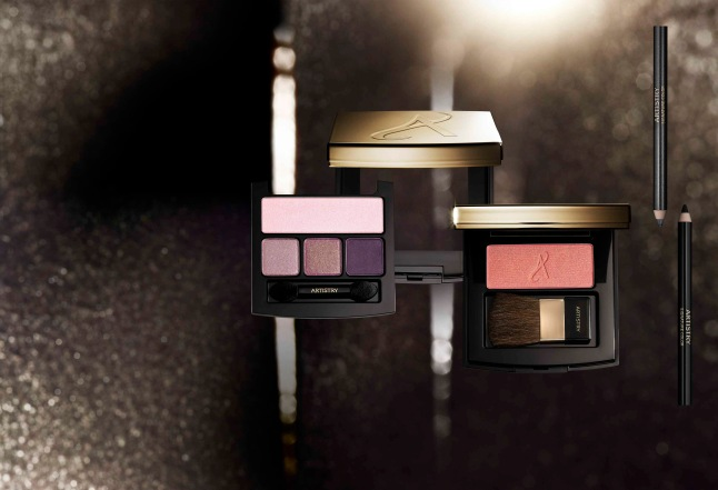 Fall 2015 Eye and Cheek Revision still life of makeup palettes