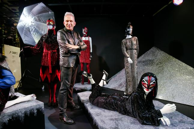 VIENNA, AUSTRIA - SEPTEMBER 15: Jean Paul Gaultier attends the Installations by Designer Jean Paul Gaultier at the Swarovski Kristallwelten Store Vienna on September 15, 2015 in Vienna, Austria. (Photo by Franziska Krug/Getty Images for Swarovski Kristallwelten)