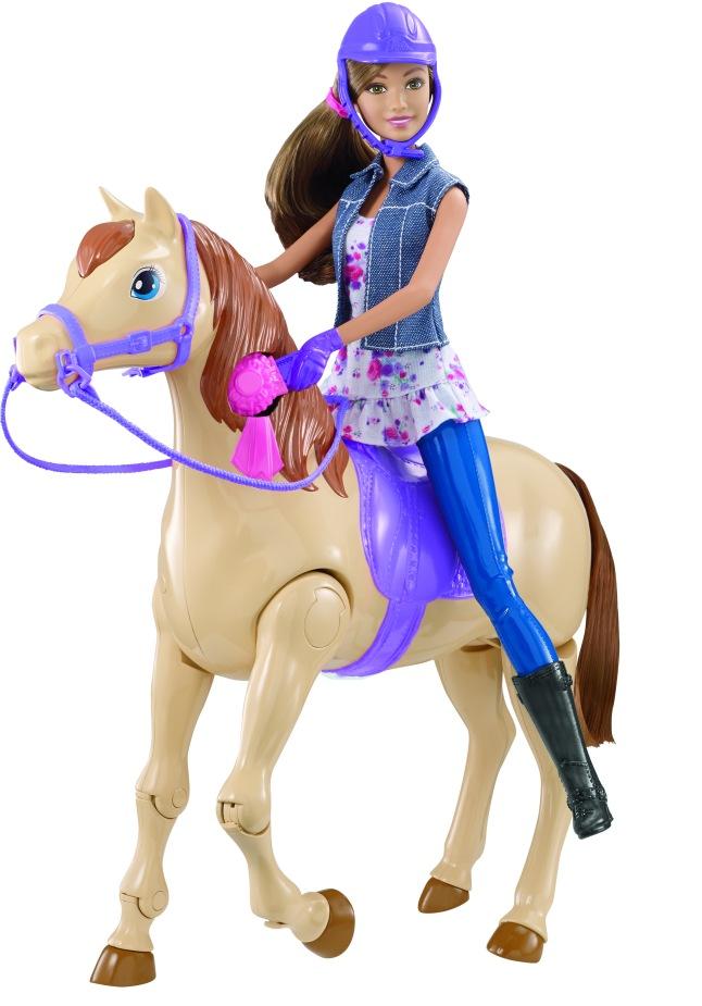 Barbie Saddle 'N Ride Horse. Photographer Jeremy Lloyd; Stylist Machiko Tanaka)