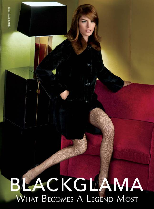 Blackgama Fall 2014 - Hilary Rhoda  (http://www.blackglama.com/inside-blackglama/the-campaigns/)