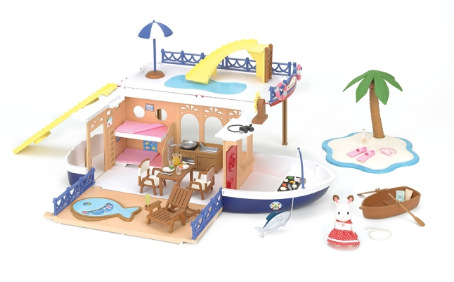 Calico Critters Seaside Cruiser