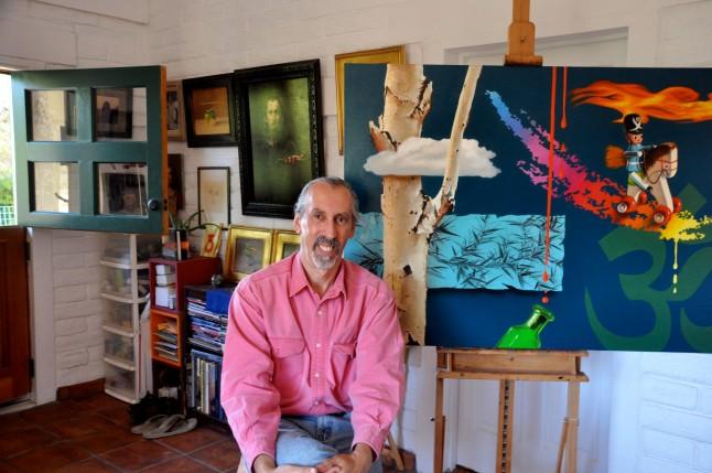 Artist Carlos Grasso