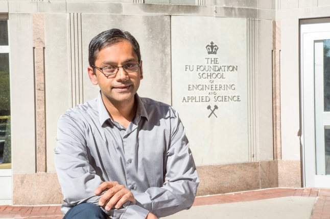 Kartik Chandran Associate Professor, Dept. of Earth and Environmental Engineering at Columbia University, New York,NY. Photographed at Columbia University and by the Hudson river. on September 19, 2015 in New York, NY.