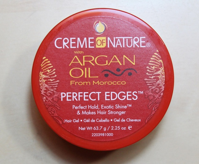 Creme of Nature's Argan Oil from Morocco Perfect Edges