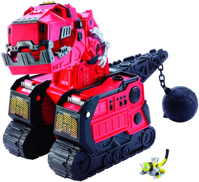 DINOTRUX Mega Chompin'Ty Rux from Mattel® Photographer:Jeff O'Brien)