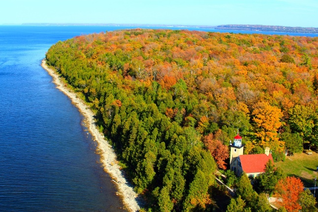 Eagle Bluff Lighthouse Peninsula State Park small