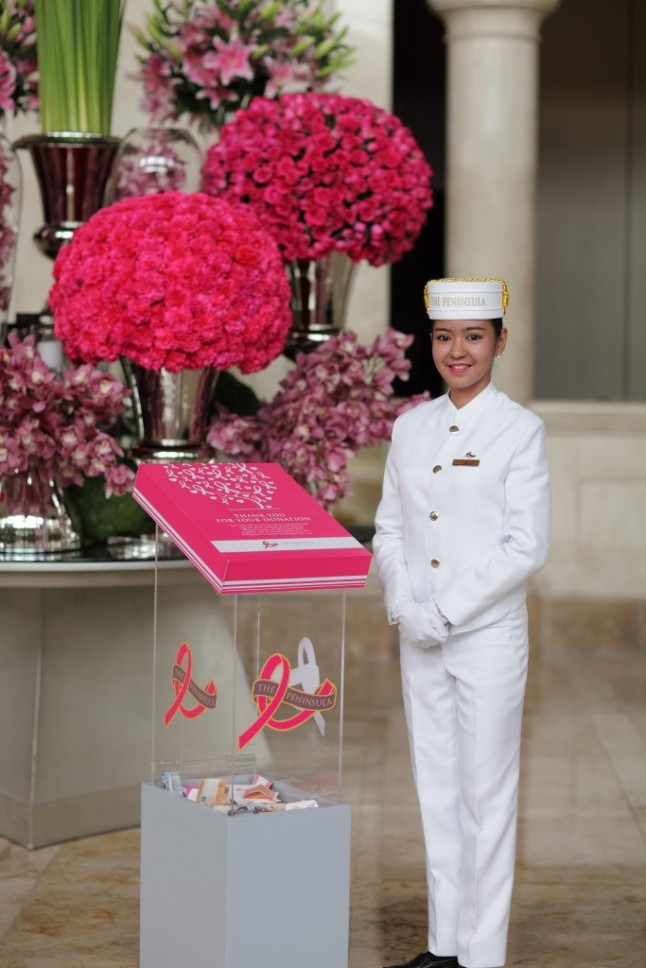 Every October, The Peninsula Manila launches its Peninsula in Pink Campaign, an initiative to raise awareness and funds in support of the Breast Cancer Awareness
