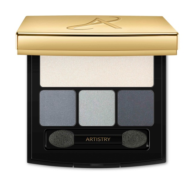 Eye-catching color trends - Artistry Signature Color Eye Shadow Quad in smoky