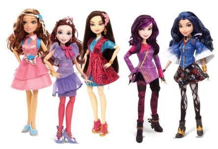 Disney Descendants Signature Outfit Doll Assortment (Hasbro)