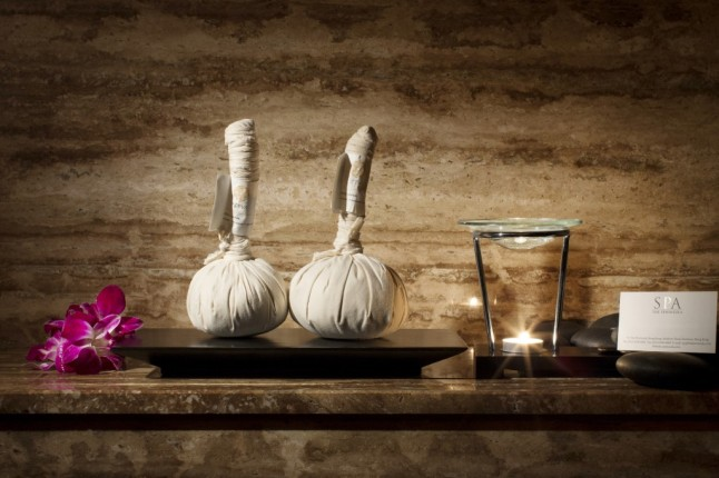 New (Herb) Podi Signature Journey Spa Treatment at The Peninsula Spa New York. (Courtesy of The Peninsula Spa New York)