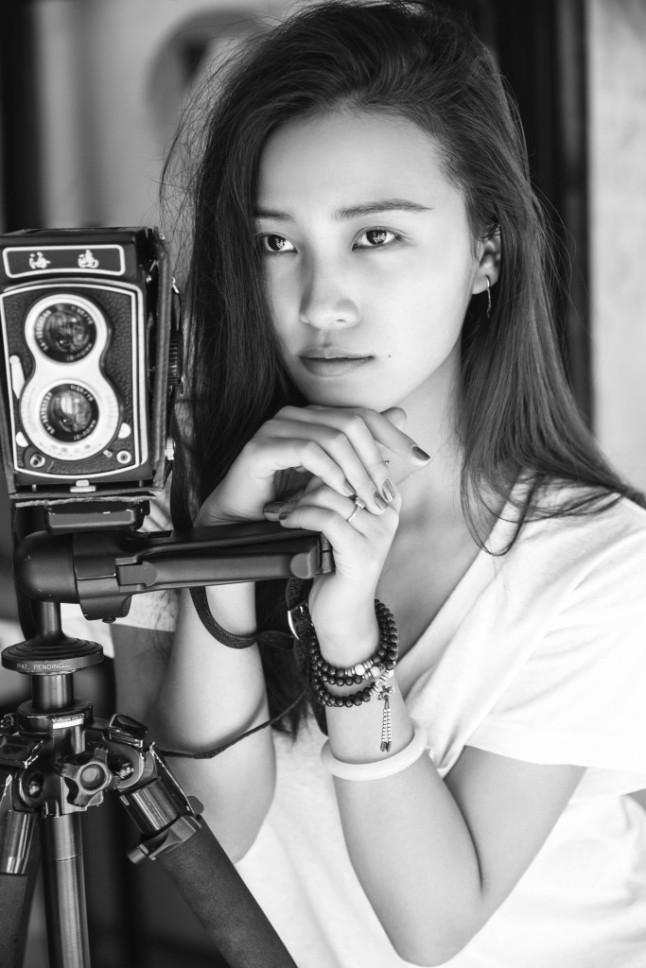Internationally celebrated Chinese photographer Chen Man