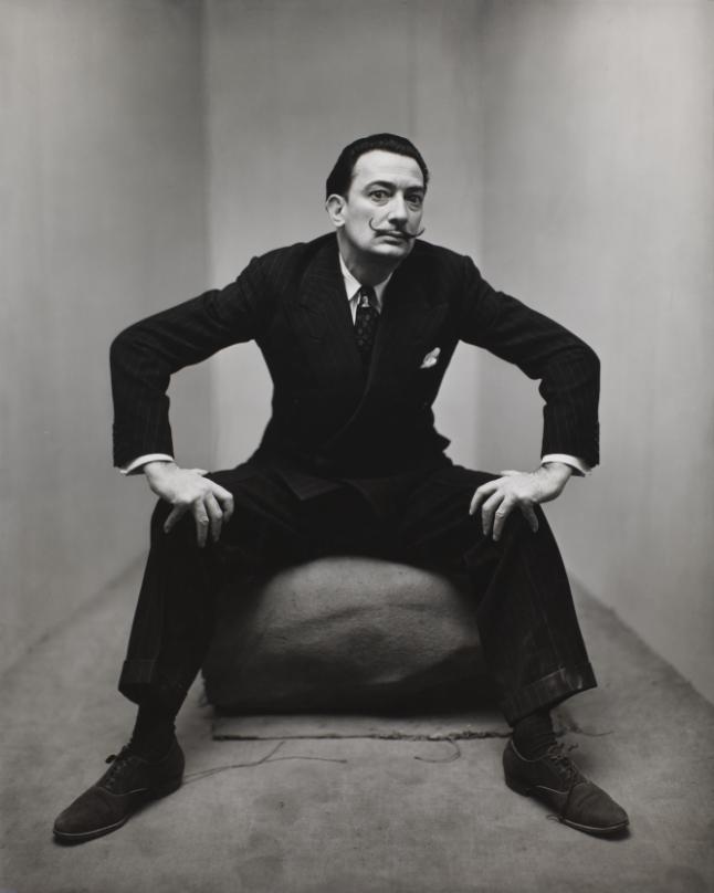 Irving Penn, Salvador Dali, New York, 1947, Smithsonian American Art Museum, Gift of the artist. Copyright © The Irving Penn Foundation