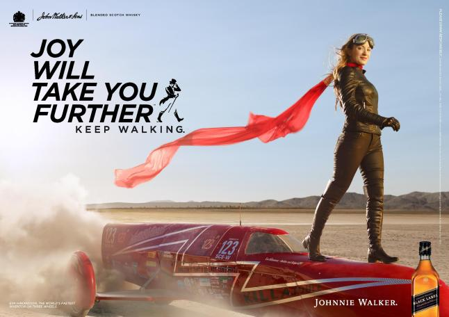 Johnnie Walker Joy Will Take You Further  - Eva Hakansson