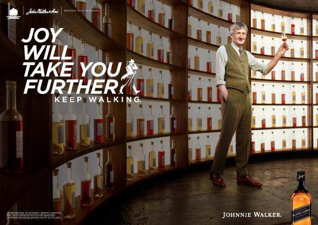 Johnnie Walker Joy Will Take You Further  - Jim Beveridge