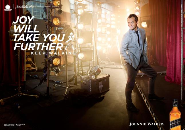 "Johnnie Walker ""Joy Will Take You Further""  - Jude Law"