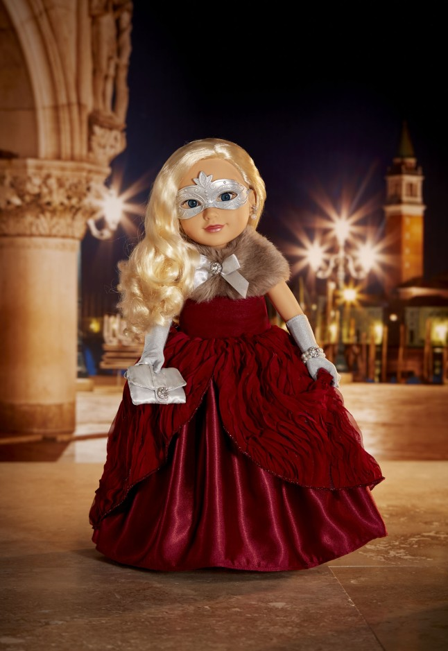 "Journey Girls® 2015 Italy Holiday Doll from Toys""R""Us®"