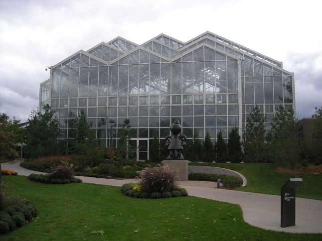 The Lena Meijer Tropical Conservatory at the Frederik Meijer Gardens & Sculpture Park.