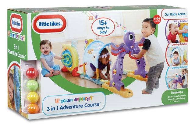Lil' Ocean Explores 3-in-1 Adventure Course Box