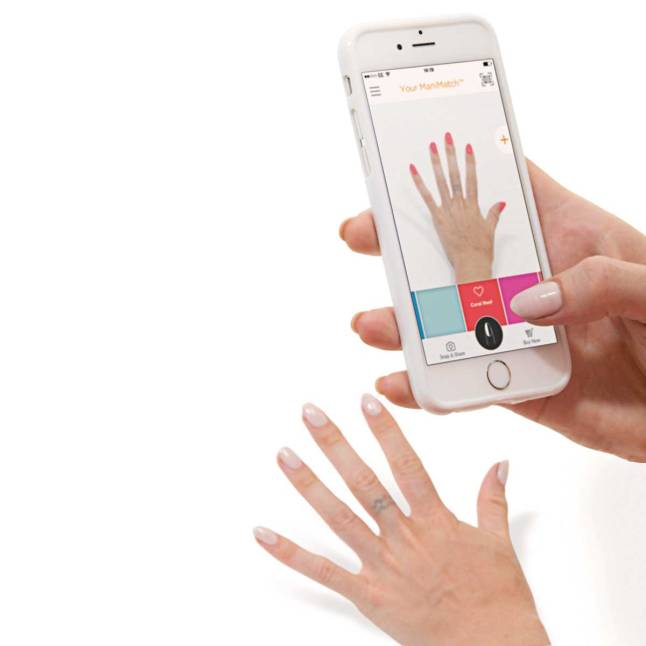 New ManiMatch App Lets You Try On Nail Polish Virtually