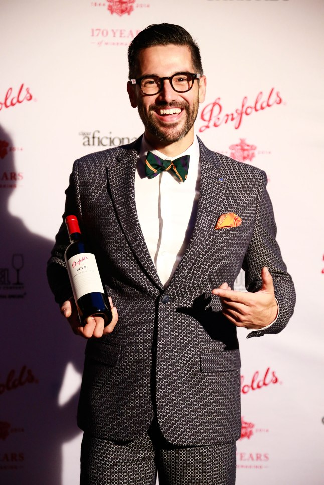 New York City's A.J. Ojeda Pons from The Lambs Club claimed the 2014 Best Dressed Somm title
