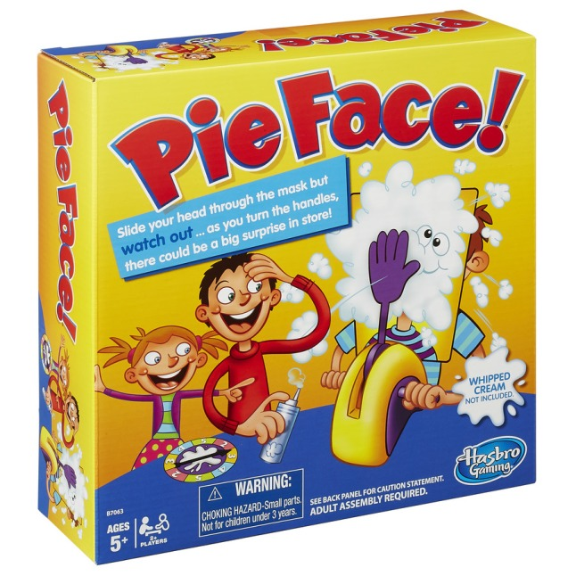 Pie Face Game from Hasbro®