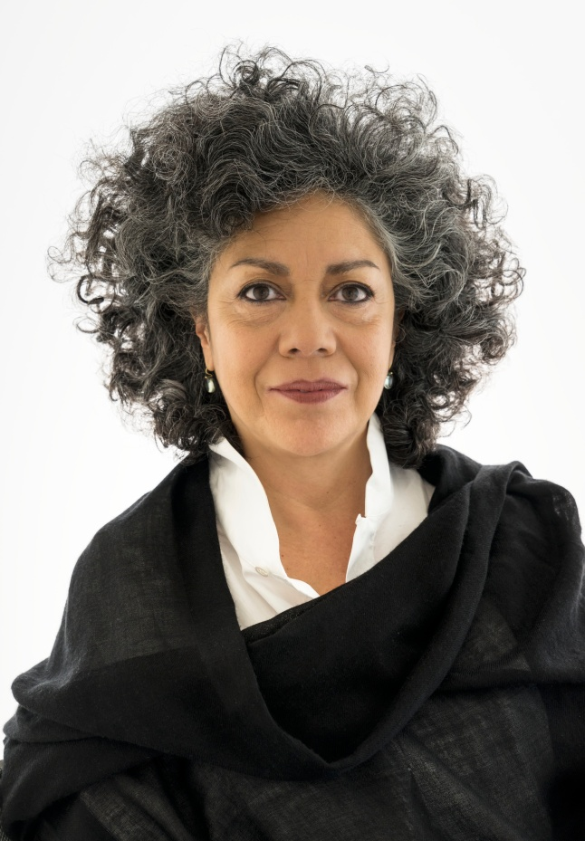 Portrait of Doris Salcedo. Photo: David Heald © The Solomon R. Guggenheim Foundation