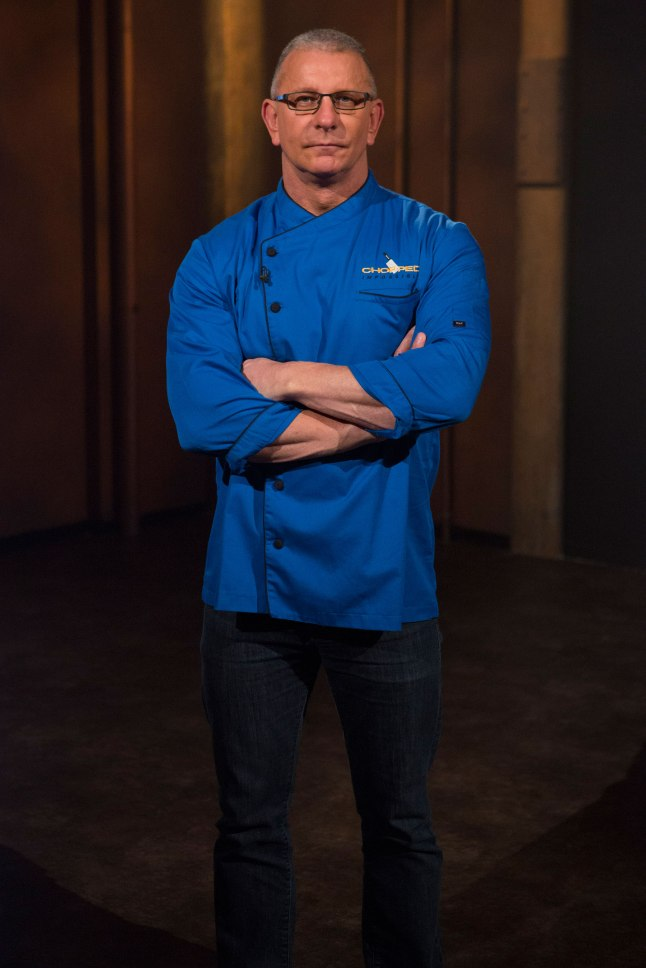 Special guest and contestant Robert Irvine of Food Network's Chopped - Impossible