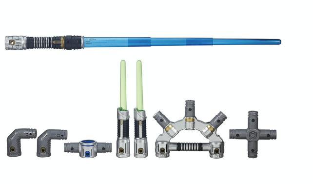 Star Wars Bladebuilders Jedi Master Lightsaber (Hasbro)