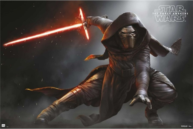 Star Wars: The Force Awakens - Kylo Ren Force Friday Poster