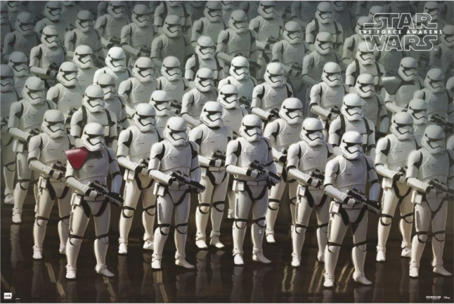 """Star Wars: The Force Awakens Stormtroopers """"Force Frida"""" Poster"""