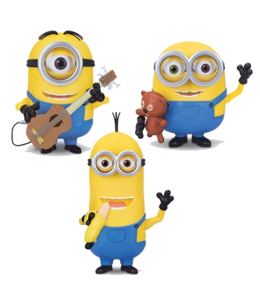 Minions Interactive Action Figures (Thinkway Toys)