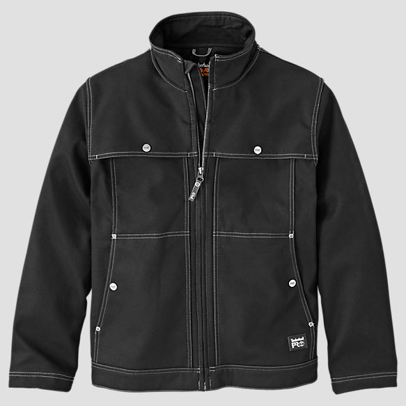 Timberland PRO® Stud-Lee Canvas Windproof Jacket (Jet Black only)