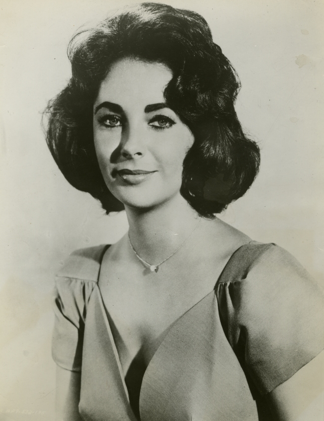 Publicity Still of Elizabeth Taylor, Source for Warhol's 'Silver Liz,' 1957. Collection of The Andy Warhol Museum, Pittsburgh. Image provided by The Andy Warhol Museum, Pittsburgh.