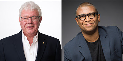 David Hill (left) And Reginald Hudlin (right)