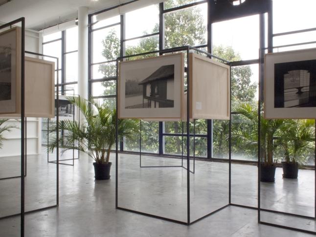 Yuki Kimura (Japanese, born 1971). KATSURA. 2012. Installation view 2012 São Paulo Biennial. Nine gelatin silver prints mounted on alpolic, frames, iron, and plants, 15 x 17 ft. (4.57 x 5.18 m) overall. The Museum of Modern Art, New York. Committee on Photography Fund. ©2015 Yuki Kimura