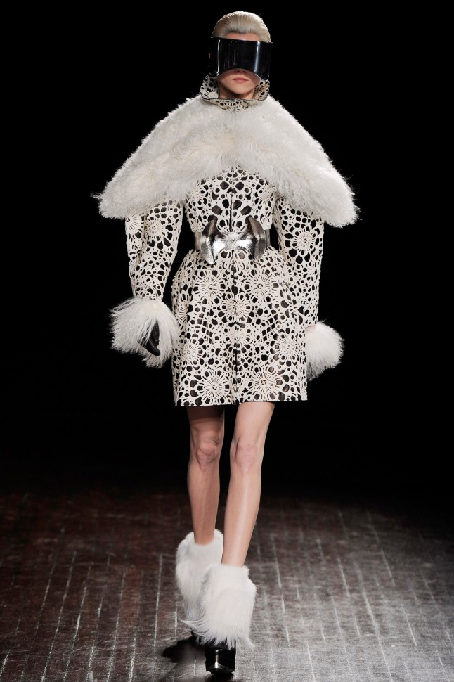 Ensemble, Sarah Burton (British, born 1974) for Alexander McQueen (British, founded 1992), fall/winter 2012–13. Courtesy of The Metropolitan Museum of Art, Photo by Catwalking