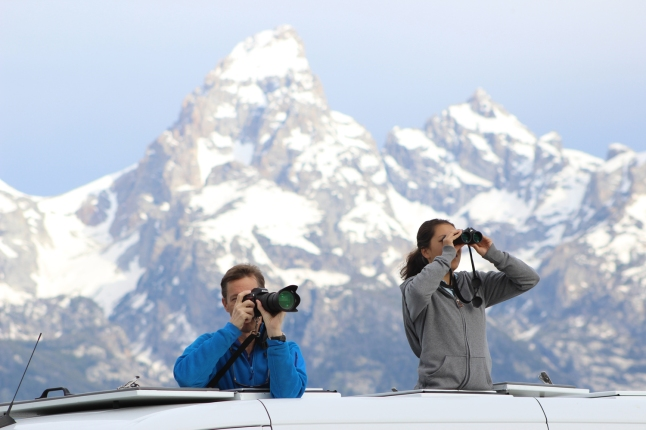 A once in a lifetime opportunity for all levels of photographers, the new Wolves of Yellowstone Park Safari from Wildlife Expeditions promises wight days of adventure. (Photo by Paul Maddex)
