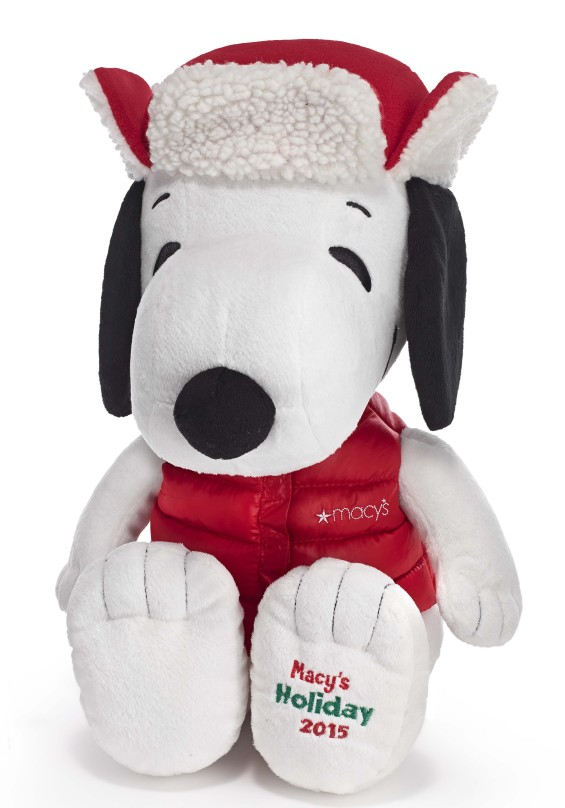 Snoopy Plush at Macy's This Christmas